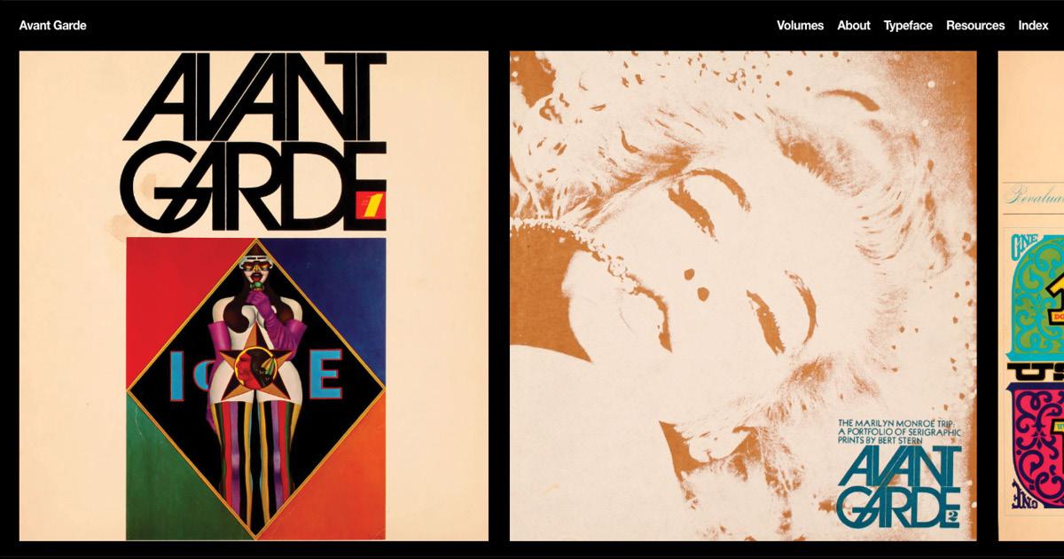Avant Garde magazine